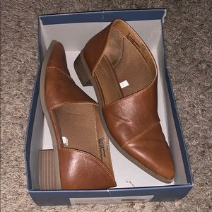 Universal Thread Brown Leather Booties